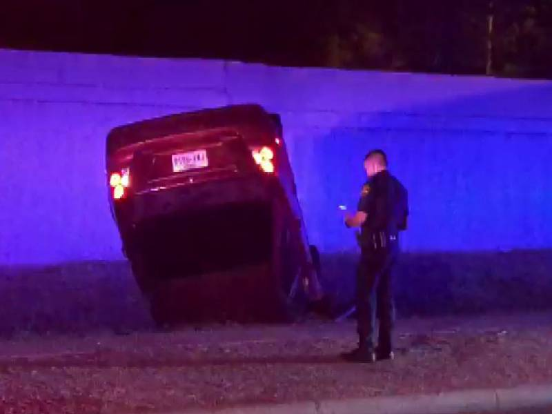 Early morning accident reported on McPherson