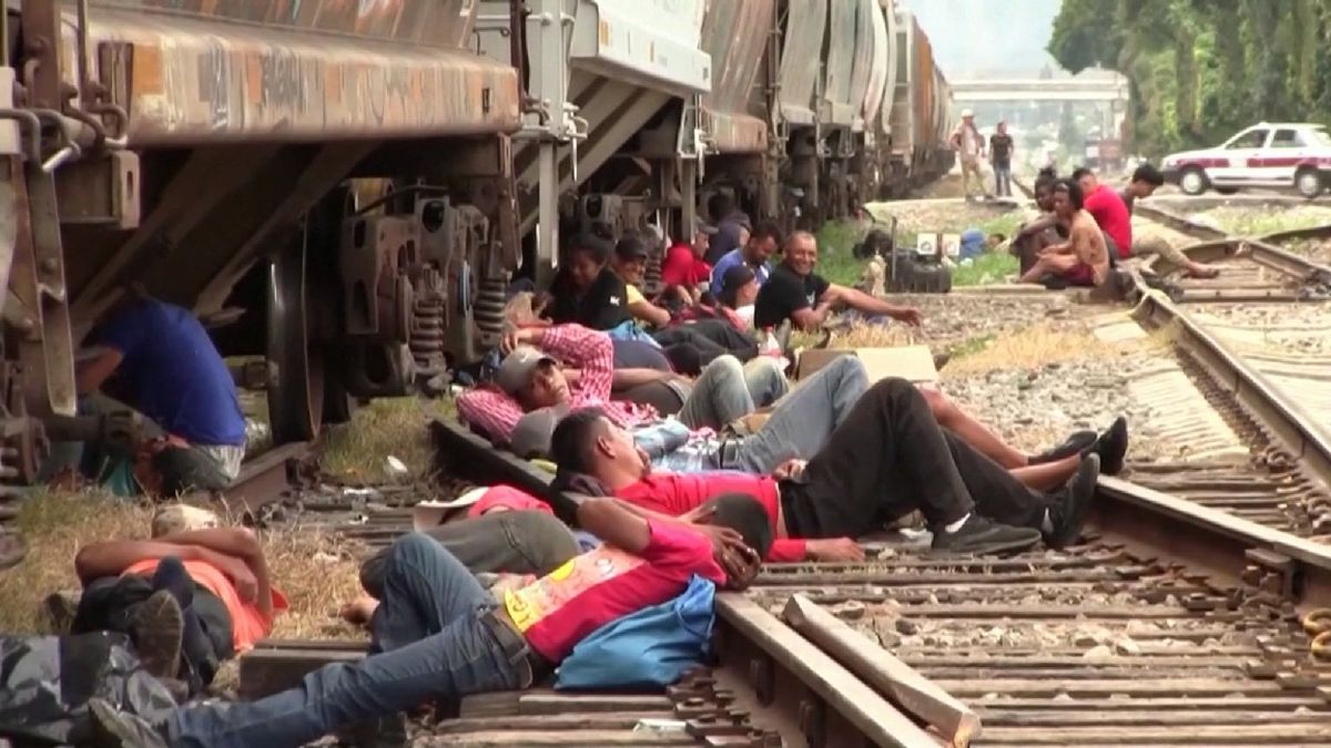 Central American Migrants headed to U.S.