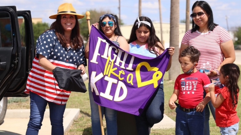 The Golden Heart Project held a 4th of July parade on Sunday to help with their mission.