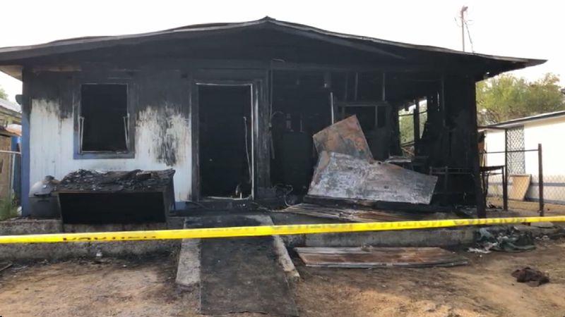 Fire destroys home at the 2400 block of Santa Clara