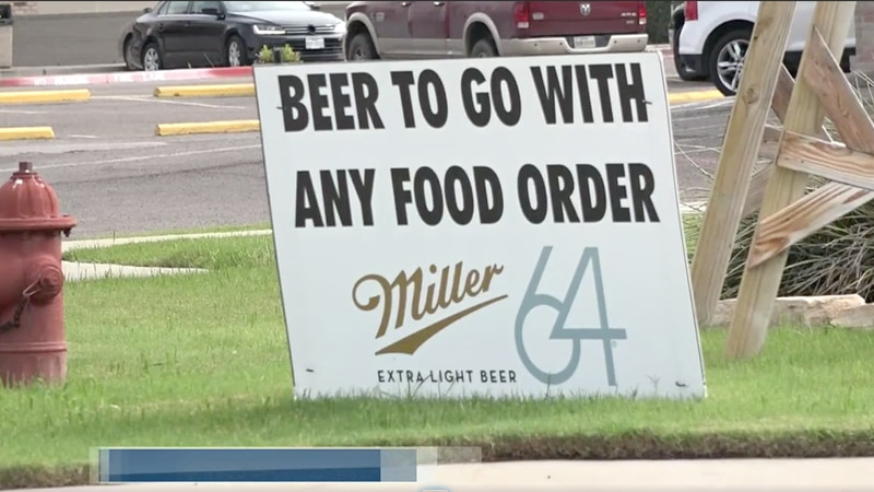 Texas law now permanently allows alcohol to go