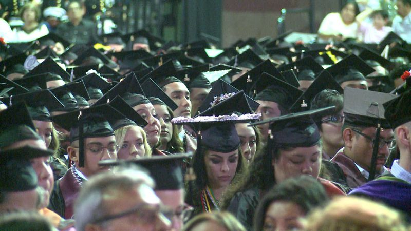 File photo: TAMIU Graduation
