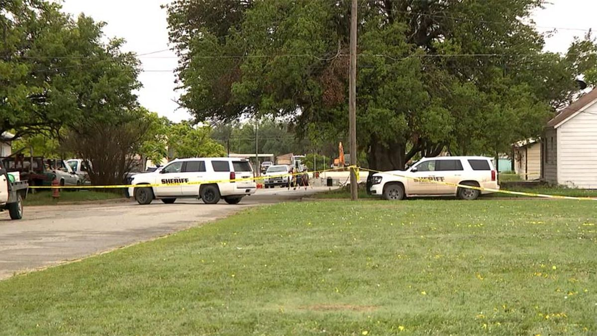Two Texas deputies were killed and a city worker was wounded while responding to a dog...