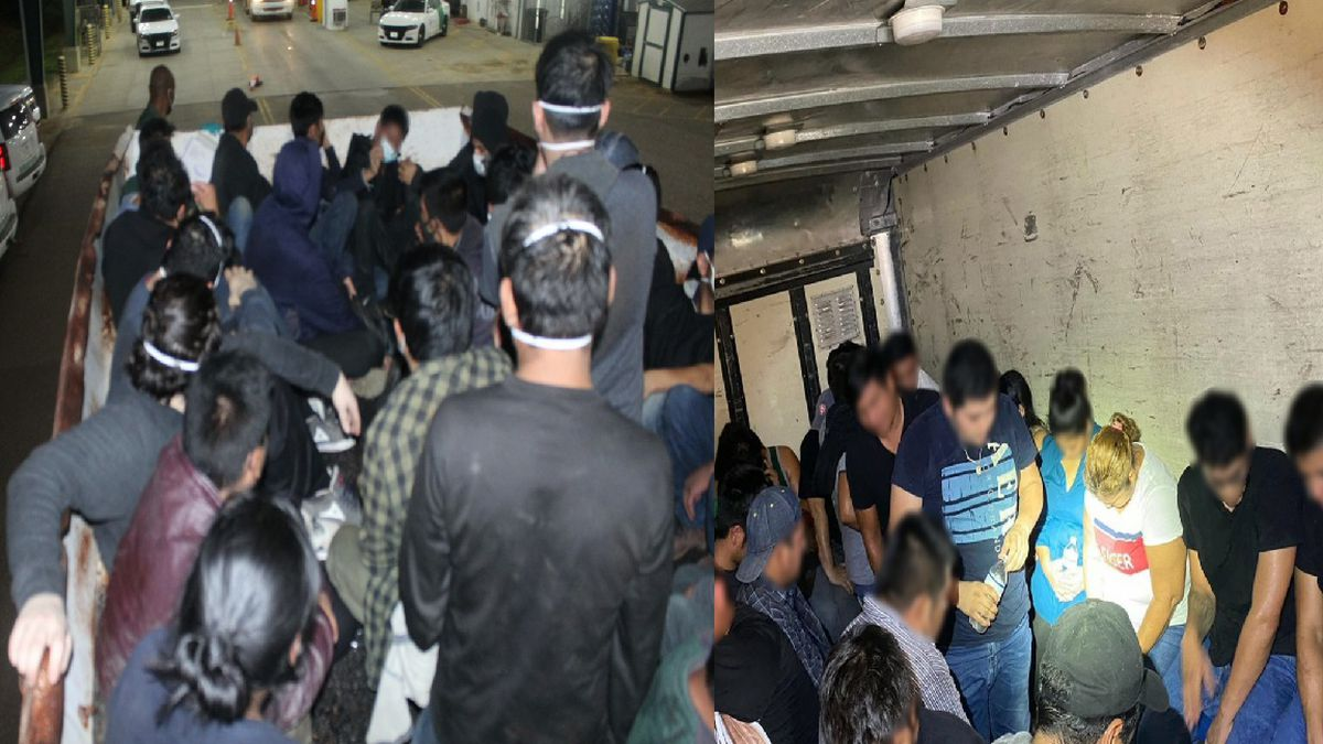 Agents discover over 200 undocumented immigrants during mass human smuggling attempts