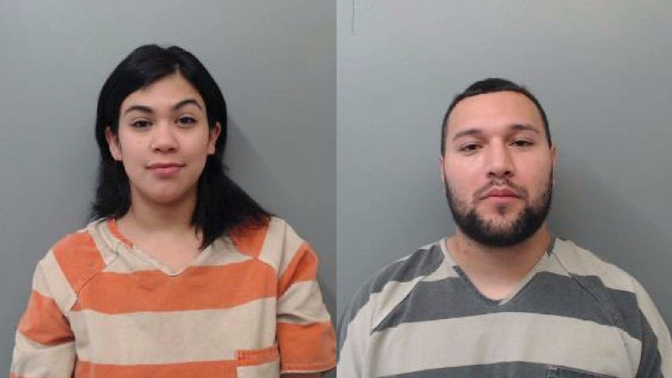 Couple arrested for fleeing Southmayd home naked after