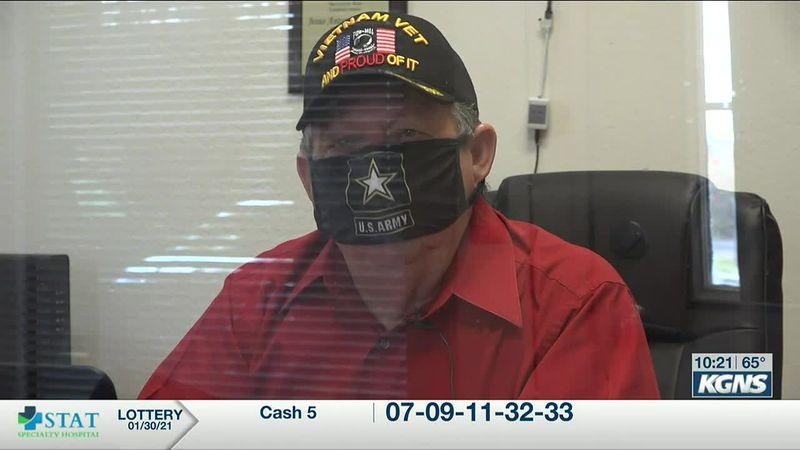 Vietnam veteran helping other heroes in his community