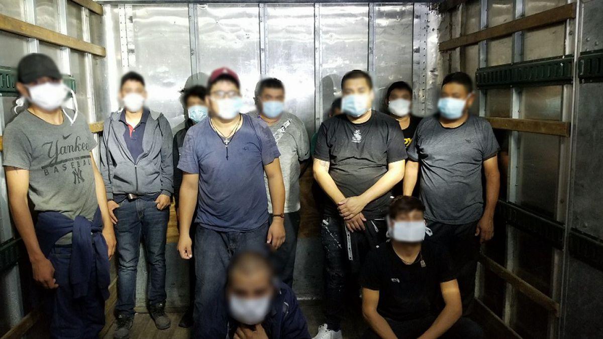 Border Patrol thwarts human smuggling attempt