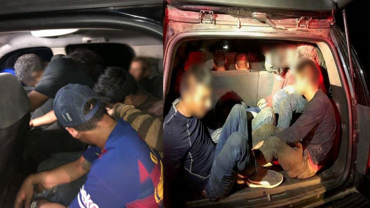 Border Patrol agents foil human smuggling attempt on foot