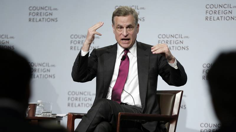 FILE - In this Wednesday, May 31, 2017, file photo, Federal Reserve Bank of Dallas President...