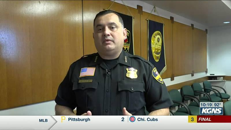 Laredo Police Chief Claudio Trevino