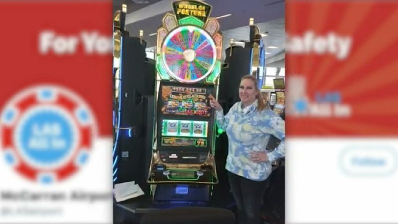 Texan wins big on slot in Las Vegas