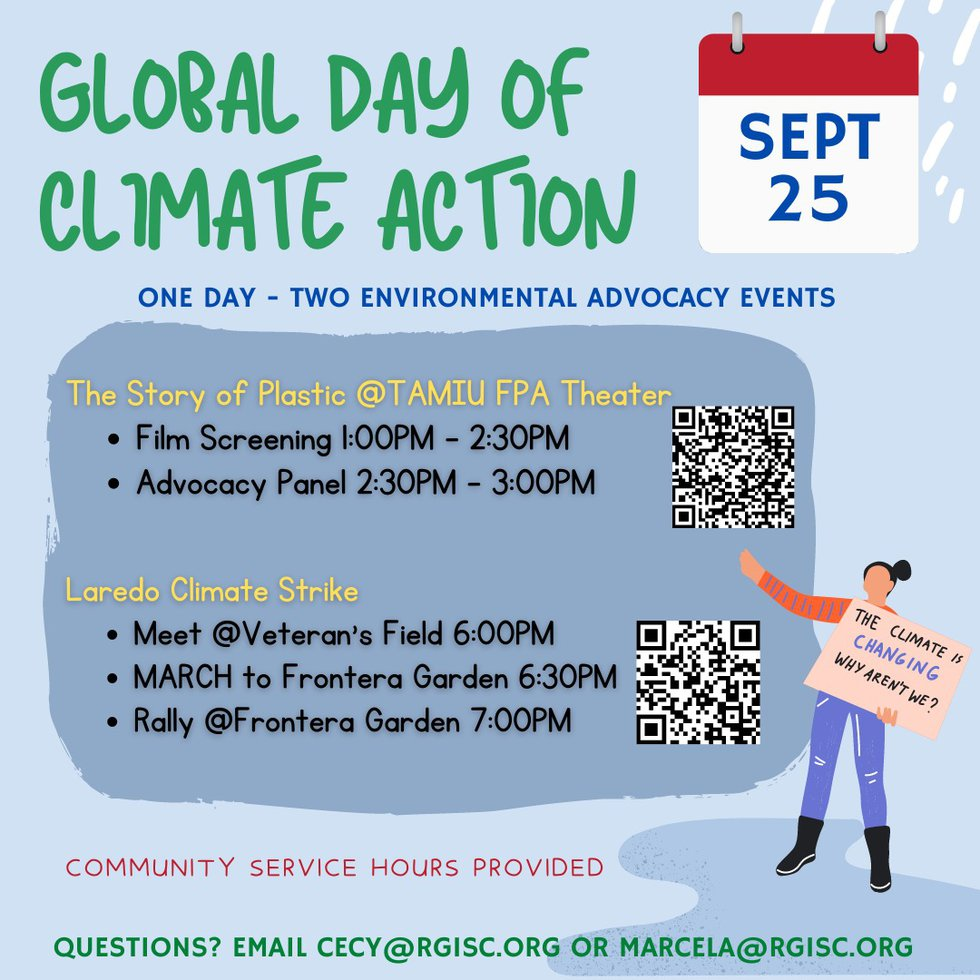 RGISC to hold Global Day of Climate Action event