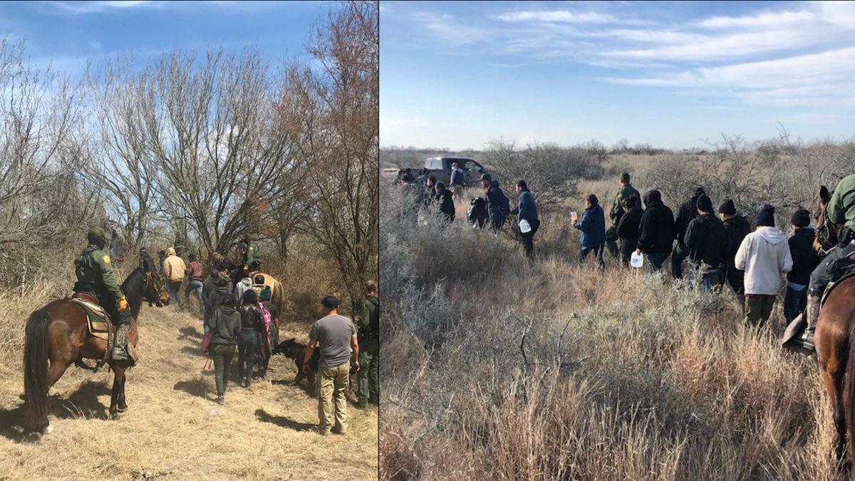 BP Horse Patrol Unit catch 125 Undocumented Immigrants