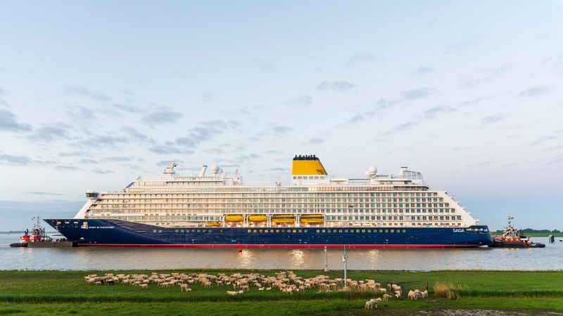 Saga Cruise Lines announced passengers must be fully vaccinated, meaning they've received both...