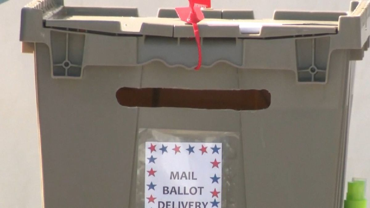Mail in ballot for the State of Texas