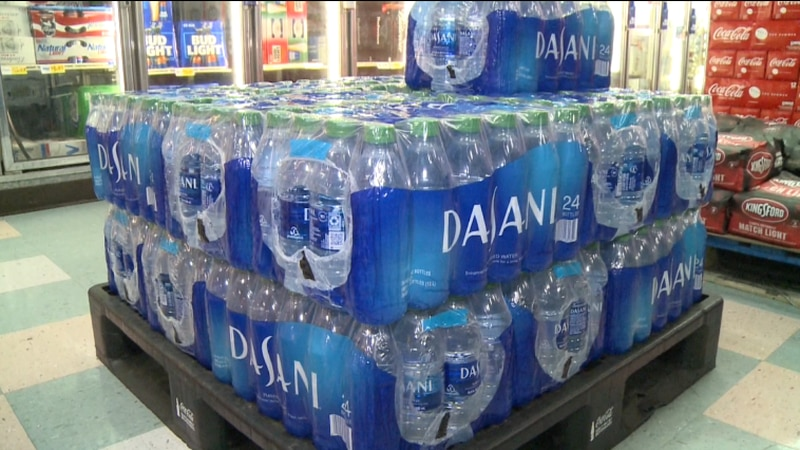 Locals react to city-wide boil water notice