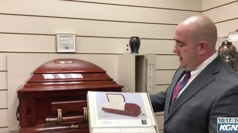 Fred Dickey III of Dickey Funeral and Cremation Services