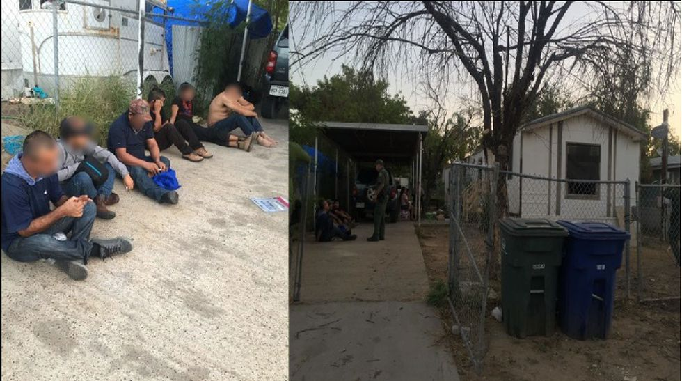 border patrol agents find eight undocumented immigrants