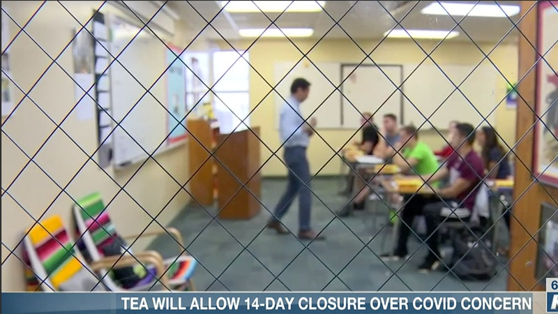TEA will allow 14-day closure over COVID concern