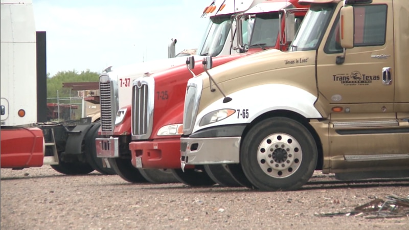 Local trucking companies struggling to find drivers