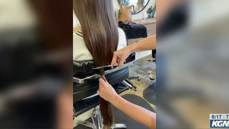 Donating your hair for a good cause