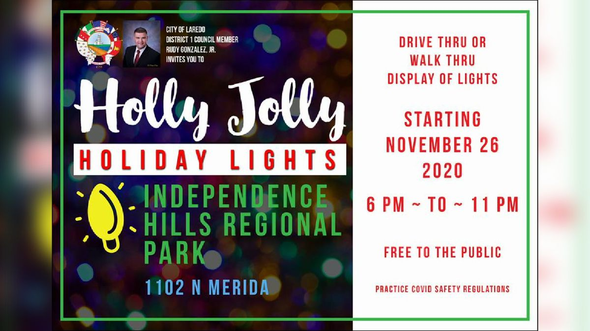 City inviting residents to enjoy the Christmas lightsC