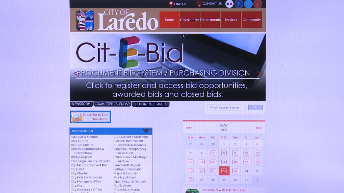 File photo: City of Laredo website