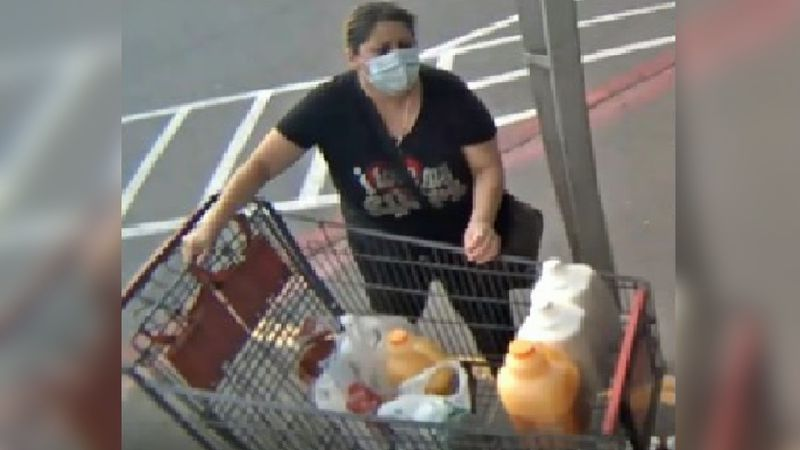Woman believed to be tied to theft