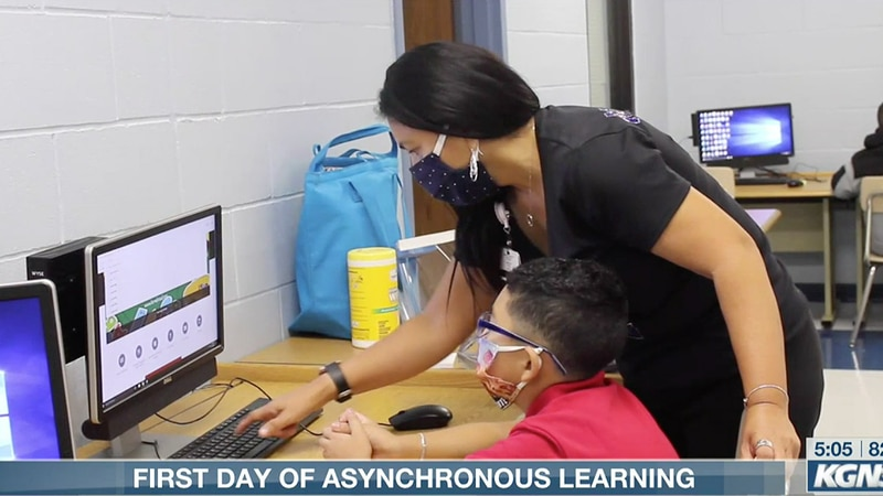 First day of asynchronous learning