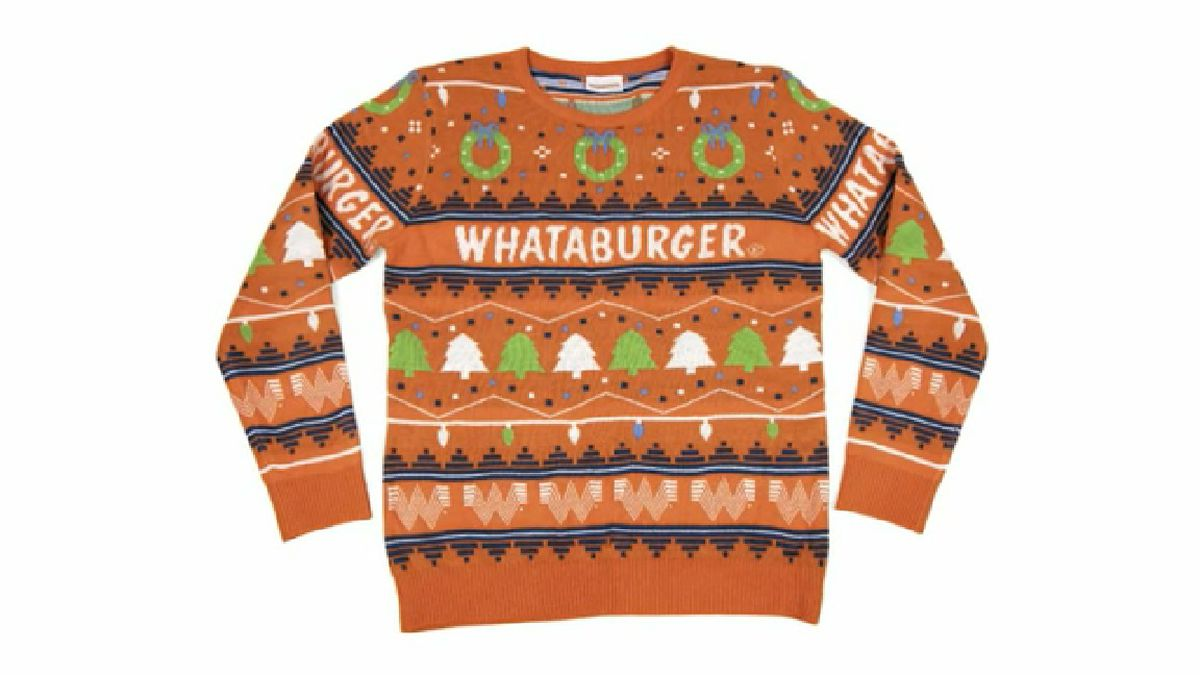 Whataburger releases ugly Christmas sweater
