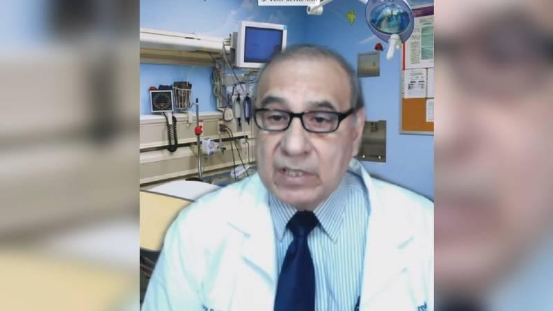 Laredo Health Authority Dr. Victor Trevino