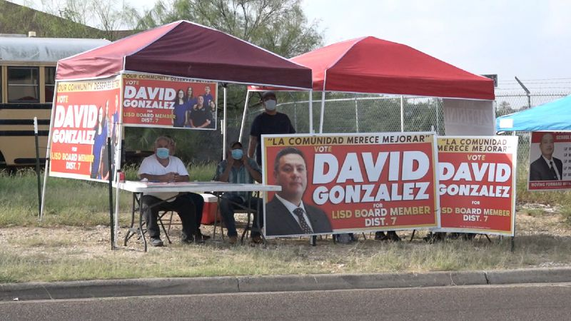 File photo: Political signs