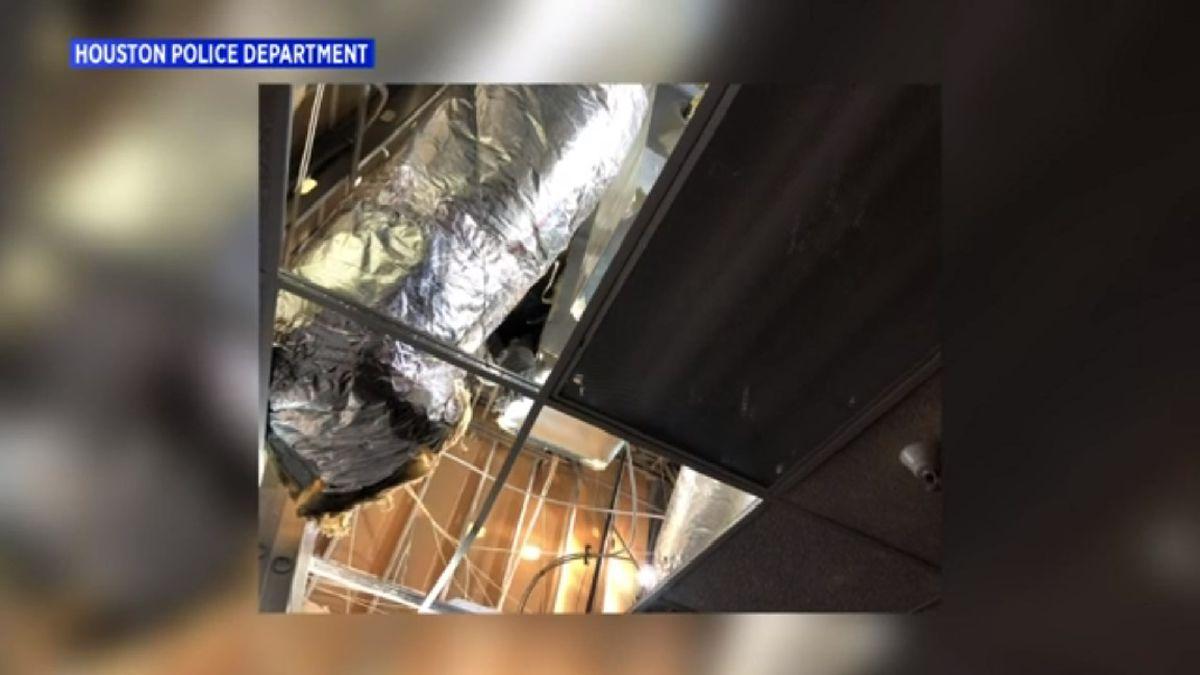 Man found living inside Walmart air ducts