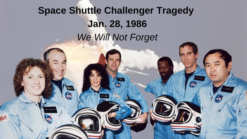 On this day, seven astronauts perished when the Space Shuttle Challenger exploded over Kennedy...